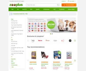 Zooplus.com - Pet Supplies, Pet Food, and Pet Products on Sale Now at zooplus