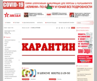 "Zwezda.net - Шекснинская газета ""Звезда"""